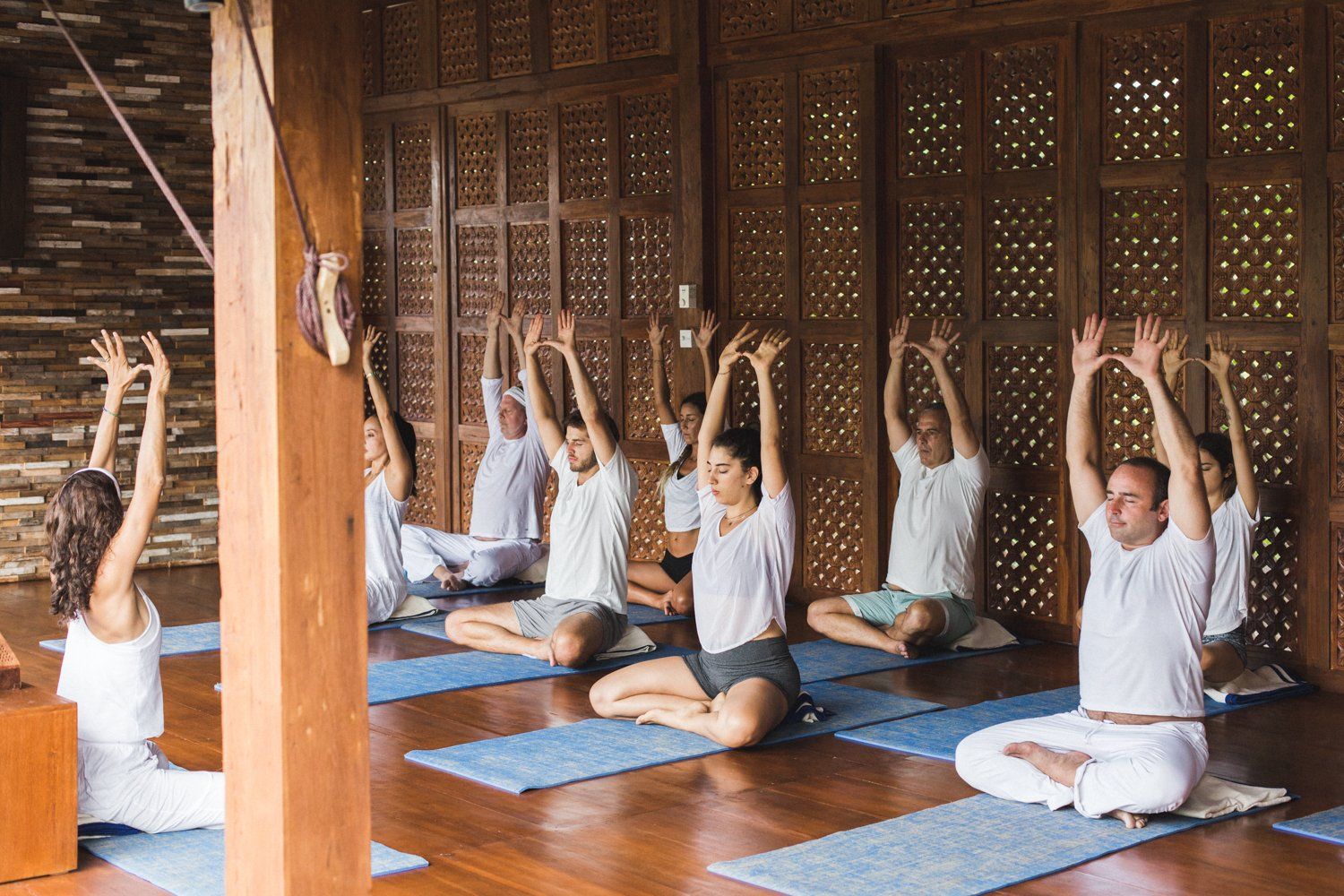 Yoga classes at the Place